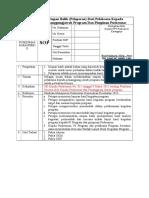 2.3.9 SOP Umpan Balik (Pelaporan) Dari Pelaksana Kepada Penanggungjawab Program Dan Pimpinan Puskesmas