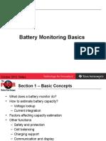 Battery Monitoring Basics