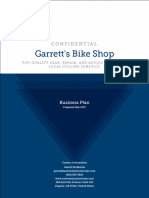 Garretts Bike Shop Business Plan