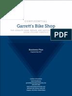 Garretts Bike Shop Business Plan
