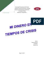 Ensayo - Presupuesto 1