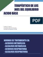 MANEJO TERAPÉUTICO DE LOS TRASTORNOS DEL EQUILIBRIO ÁCIDO.pptx