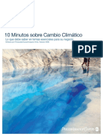 10 Minutos Sobre Cambio Climatico