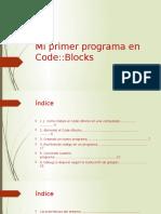 Mi Primer Programa en Code