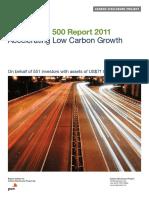 Crecimiento Bajo en Carbono - Carbon-disclosure-project-2011