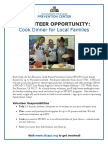 cook dinner for sf families