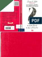 WEFFORT, Francisco C. Os Clássicos Da Política, Vol. II