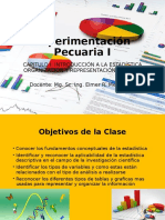Capitulo I. Fundamentos de Estadistica, Organizacion y Representacion