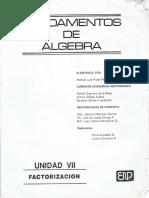 Fundamentos de Algebra U-7