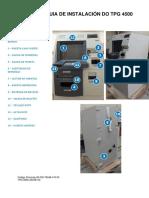 Guia de Instalación ATM DIEBOLD Tpg 4500