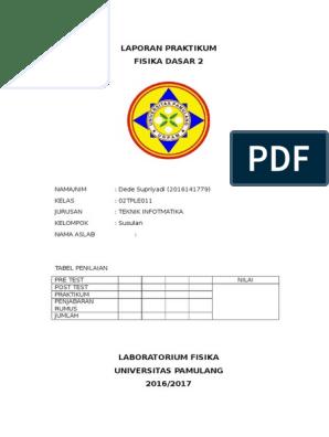 Laporan Praktikum Docx