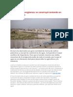 Franja de Gaza -El Muro de La Vergüenza y El Agua
