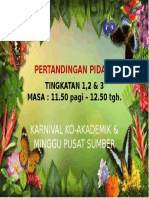 Backdrop Pertandingan Pidato