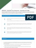 GT_SiRADIG - Impuesto a Las Ganancias - Formulario 572 Web