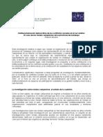Institucionalización democrática de los conflictos sociales en el sur andino