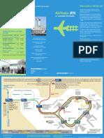 Jfk Airtrain Brochure Spanish