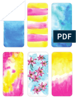 Iphone5 Case Watercolor