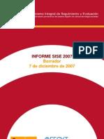 Informe SISE 2007 - Borrador