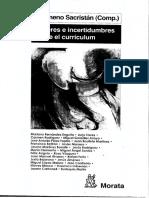 SACRISTAN 2010 Saberes e incertidumbres sobre el c.pdf