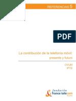 La contribución de la telefonía móvil - Presente y futuro