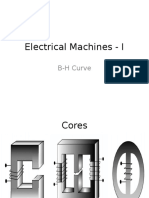 Electrical Machines - I BH curve