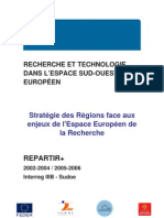 INTERREG IIIB - Stratégie des Régions