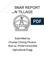 A Seminar Report on Tillage