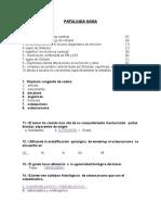Cuestionario de Patologia