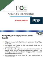 CC Ppt CB SF6 Gas Handling