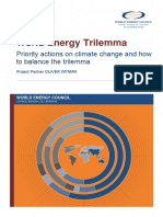 2015 World Energy Trilemma Priority Actions on Climate Change and How to Balance the Trilemma
