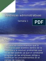 Destrezas administrativas1