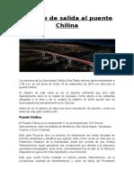Informe de Salida Al Puente Chilina