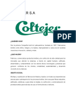 Analisis Financiero  Coltejer