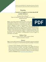El viaje de Unamón o el registro no intencional del cambio histórico.Francisco Moro Albacete..pdf