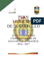 Plan de Desarrollo Municipal 2014-2017 Agua Dulce