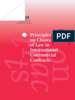 PICC - Choice of Law
