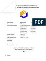 Laporan Praktikum Operasi Sistem Energi