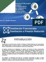 Grupo 3 Destilacion Fraccionada y Destilacion a Presion Reducida