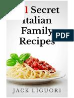 191 Secret Italian Family Recipes - Jack Liguori