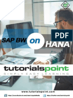 Sap Bw on Hana Tutorial (1)