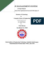 Election Management System File