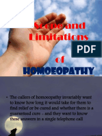 Scope Limitation Homeopathy