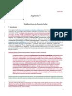 Revisions — Appendix V