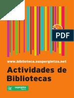 actividades de biblioteca