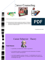 Careerbehavior Theory