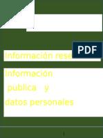 DERECHO DE ACCESO A LA INFORMACIÓN PÚBLICA