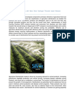 Farm Bio-security with Nano Silver Hydrogen Peroxide based Alstasan Silvox