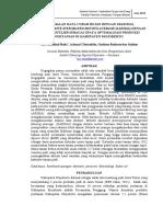 Peramalan Data Curah Hujan Dengan Seasonal Autoregressive Integrated Moving Average Sarima Dengan Deteksi Ou