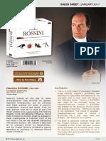ROSSINI Complete Overtures (Prague Sinfonia, Benda)