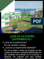 Función Objetivo.diseño de Experimentos